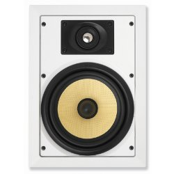 AccentPLUS2 In-Wall Speaker 8.0 inches with Pivoting Tweeter (Pair)