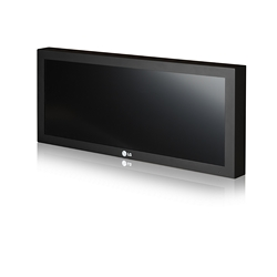 38 inches Professional LCD Strech Display with 16:4 aspect ratio