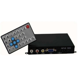 Reproductor Multimedia Digital SRK-005-K (Botonera ext. 12 botones + VGA)