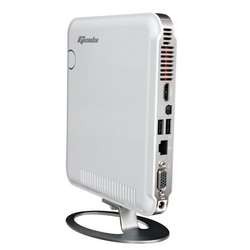 Mini PC GIADA Slim N20W7 320GB Wifi/N/ White with Windows 7